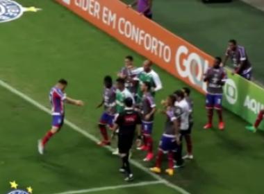 Ferrareis após estreia com gol pelo Bahia: 'Não tenho palavras'