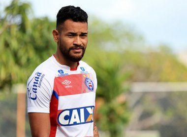 Médico do Bahia dá prazo de 30 dias para retorno de Jackson aos treinos