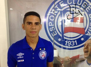 Bahia confirma empréstimo de Kaynan ao Marcílio Dias-SC