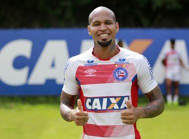 'Quase 100%', Wellington Silva celebra retorno aos treinos do Bahia
