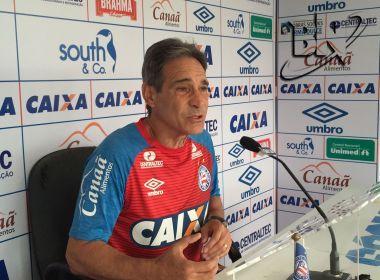 'Gostei da minha estreia', vibra Paulo César Carpegiani, após o Bahia arrancar empate