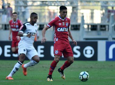 Em jogo de quatro gols, Bahia e Atlético-MG empatam na Arena Fonte Nova