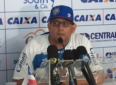 Guto Ferreira credita revés ao tempo e vê 'margem de melhora' no Bahia