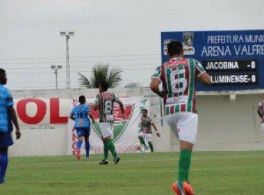 Feirense e Fluminense jogarão primeira fase do Baiano em Riachão do Jacuípe
