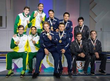 Brasil fatura duas medalhas por equipe no Pan-Americano de Esgrima