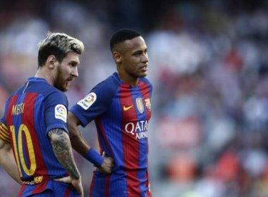 Com renovação de contrato, Neymar receberá mais que Messi, diz jornal
