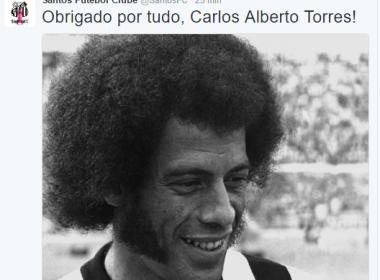 Clubes e atletas lamentam morte de Carlos Alberto Torres: 'Descanse em paz'