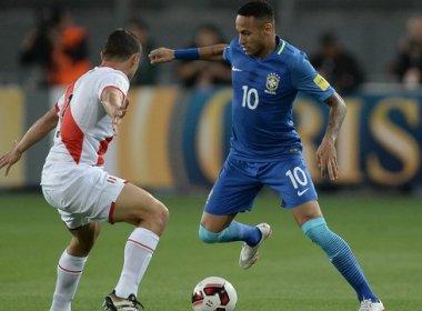 Brasil vence o Peru por 2 a 0 e chega a sexta vitória consecutiva nas eliminatórias