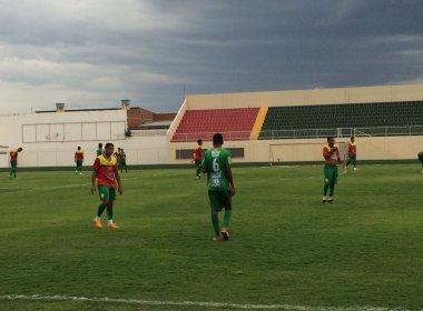 De virada, Juazeirense vence Juazeiro em jogo-treino no Adauto Moraes