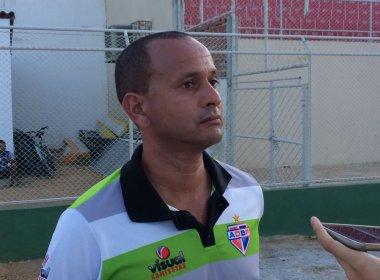 Treinador do Bahia de Feira quer mais um atacante para o Baianão