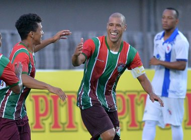 Campeonato Baiano: Em Pituaçu, Fluminense de Feira goleia o Galícia