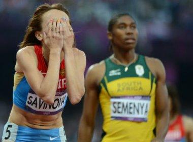 Russa é punida por doping e Caster Semenya herda o ouro dos 800m de Londres 2012