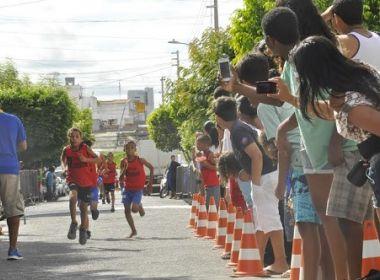 Corrida Tiradentinhos reúne crianças de sete a 14 anos em Juazeiro