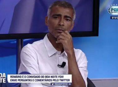 Romário elege Gilson Nunes como pior técnico com quem já trabalhou: 'Treinador de m****'