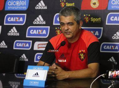Técnico do Sport cita pressão e decreta: 'Felizmente nossa final é fora de casa'