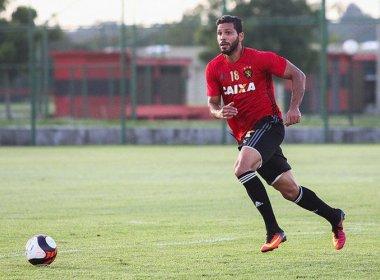 Sport testa formação com três zagueiros para enfrentar o Bahia