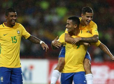 Sem acordo com a Globo, CBF vai produzir e transmitir amistosos da Seleção Brasileira