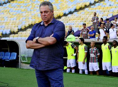 Abel Braga diz que Fluminense sai com gosto amargo com empate e ainda critica arbitragem