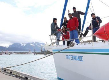 Navegador ucraniano radicado na Bahia, Belov chega ao Alasca