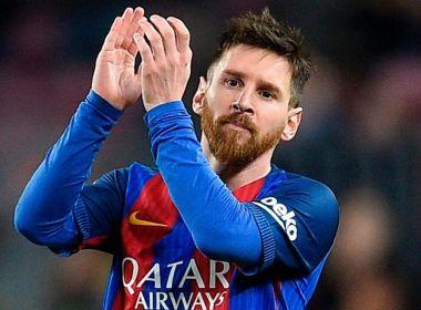 Barcelona anuncia renovação de contrato de Messi até junho de 2021