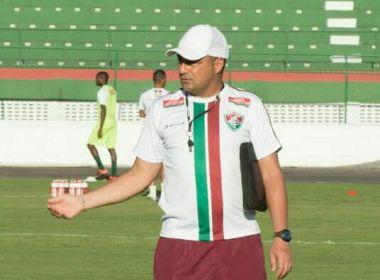 Técnico do Flu de Feira pede cautela com o Campinense: 'Já assisti ao jogo 2 vezes'