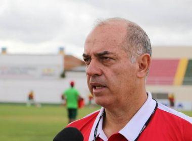 Rabello descarta o uso do regulamento pela Juazeirense: 'Vamos jogar para vencer'
