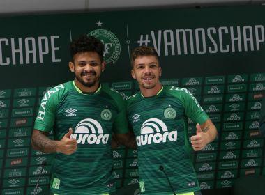 Chapecoense apresenta dois reforços para a sequência do Brasileirão