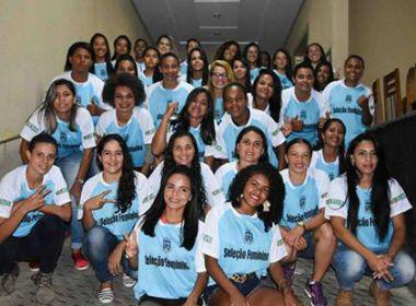 Conquista Futebol Clube vai tentar buscar apoio da prefeitura para disputar o Baianão Feminino