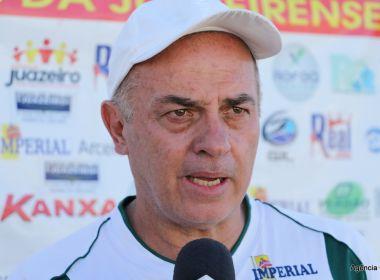 'Vamos para lá para não tomar gol', avisa Rabello sobre postura da Juazeirense