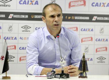 Após derrota para o Bahia, Milton Mendes é demitido pelo Vasco