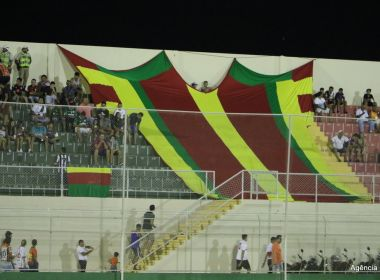 Juazeirense teve prejuízo financeiro em bilheteria da primeira semifinal da Série D