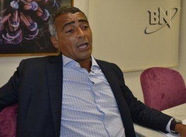 CBF recorre à Justiça para que informações do livro de Romário não sejam publicadas