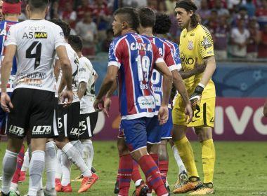 'Ali era tudo ou nada', explica Cássio sobre a jogada do segundo gol do Bahia