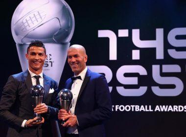 Zidane é o 1ª da história eleito melhor do mundo como jogador e agora como técnico