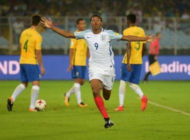 Brewster marca três gols e o Brasil é eliminado pela Inglaterra no Mundial Sub-17