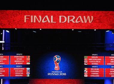 Fifa define os grupos da Copa do Mundo de 2018; confira o chaveamento