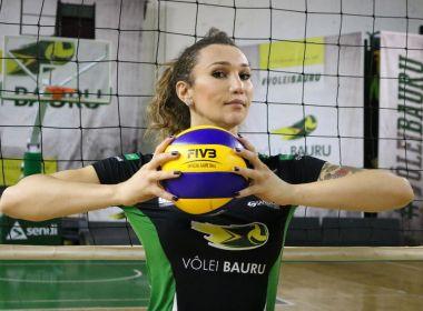 Superliga Feminina não mudará regra e Tifanny poderá jogar até o final do campeonato