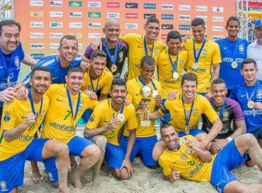 Baiano é convocado pelo Brasil para disputar a Copa América de Beach Soccer
