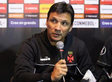 Zé Ricardo lamenta goleada sofrida pelo Vasco, mas fica aliviado com classificação