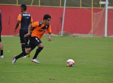 Mancini comanda treino no Barradão e testa Alípio entre os titulares