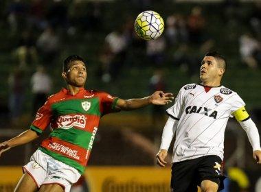Em casa, Vitória encara a Portuguesa por uma vaga na próxima fase da Copa do Brasil