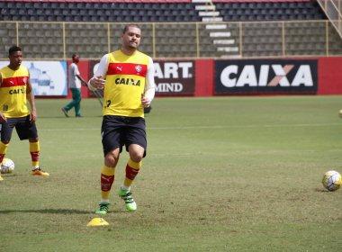 Guilherme Mattis sente desconforto na coxa e deixa o treino mais cedo