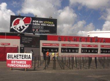 Vitória x Cruzeiro: quase seis mil ingressos foram vendidos