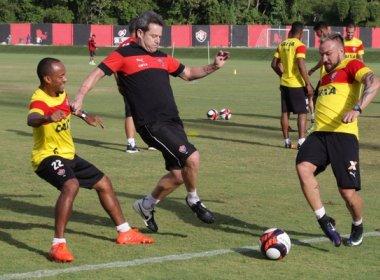 Com treino físico e Argel atuante, Vitória segue pré-temporada