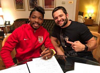 Marinho assina com clube chinês e espera fazer história no futebol asiático