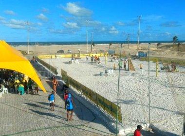 Circuito de Vôlei de Praia Open: Moisés e Benjamin representam o Vitória em Aracaju