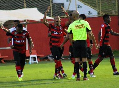 Atacante do Vitória sub-20 pede cautela após triunfo contra o Goiás