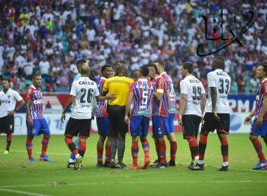 Vitória é absolvido por copo arremessado em jogo contra o Bahia