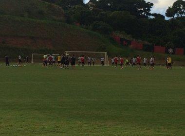 Vitória finaliza preparação para enfrentar o Coritiba