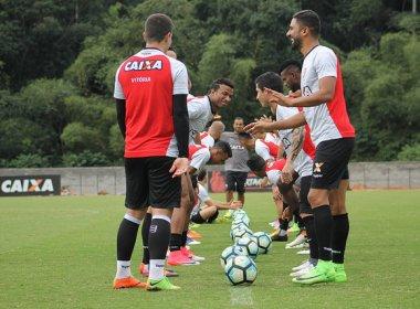 Com treino fechado à imprensa, Vitória encerra preparação para encarar a Ponte Preta